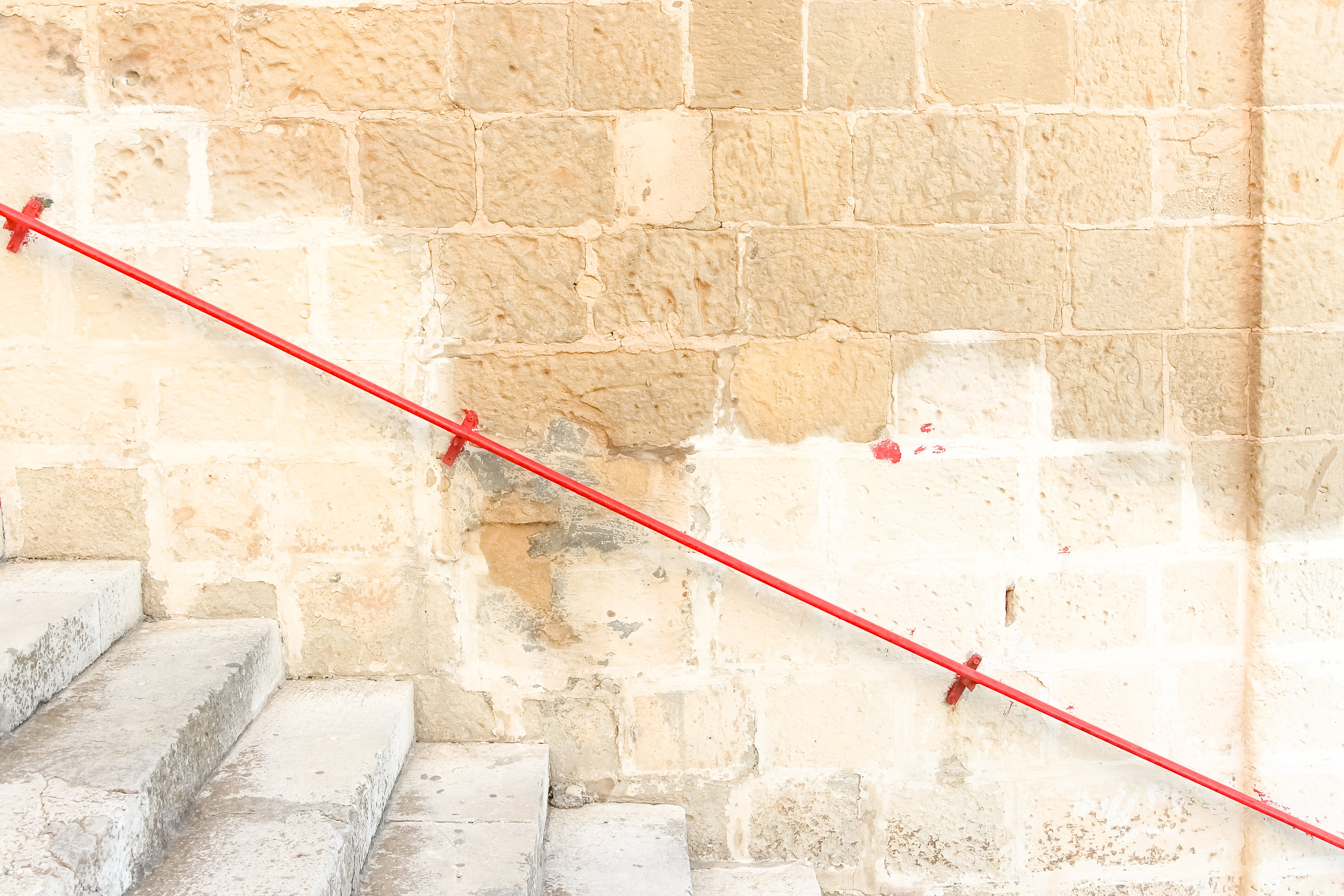 Go | Stairs | Old Town of Valletta | - Thinking About Appreciation For Quality In Malta | Malta, Europe | DoLessGetMoreDone.com | - Canon Minimal Travel Documentary Photography - search for Liveability | Sustainability