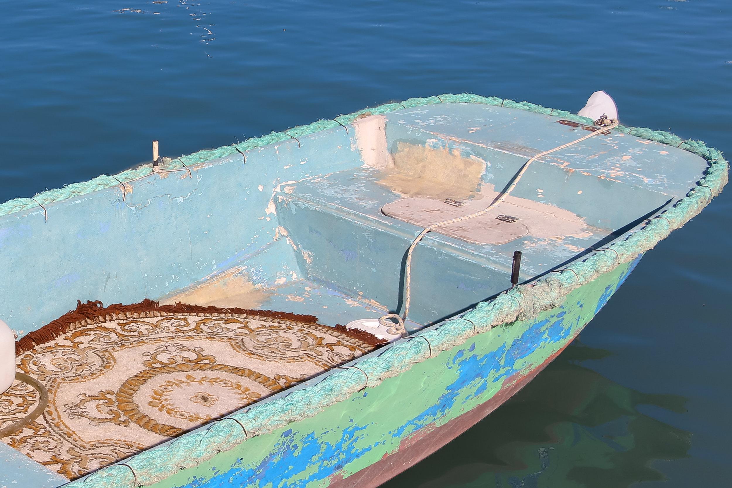 Maltese Boat   Traditional Fishing Village   Mediterranean Sea   Marsaxlokk - Thinking About Appreciation For Quality In Malta   Malta, Europe   DoLessGetMoreDone.com   - Canon Minimal Travel Documentary Photography - search for Liveability   Sustainability