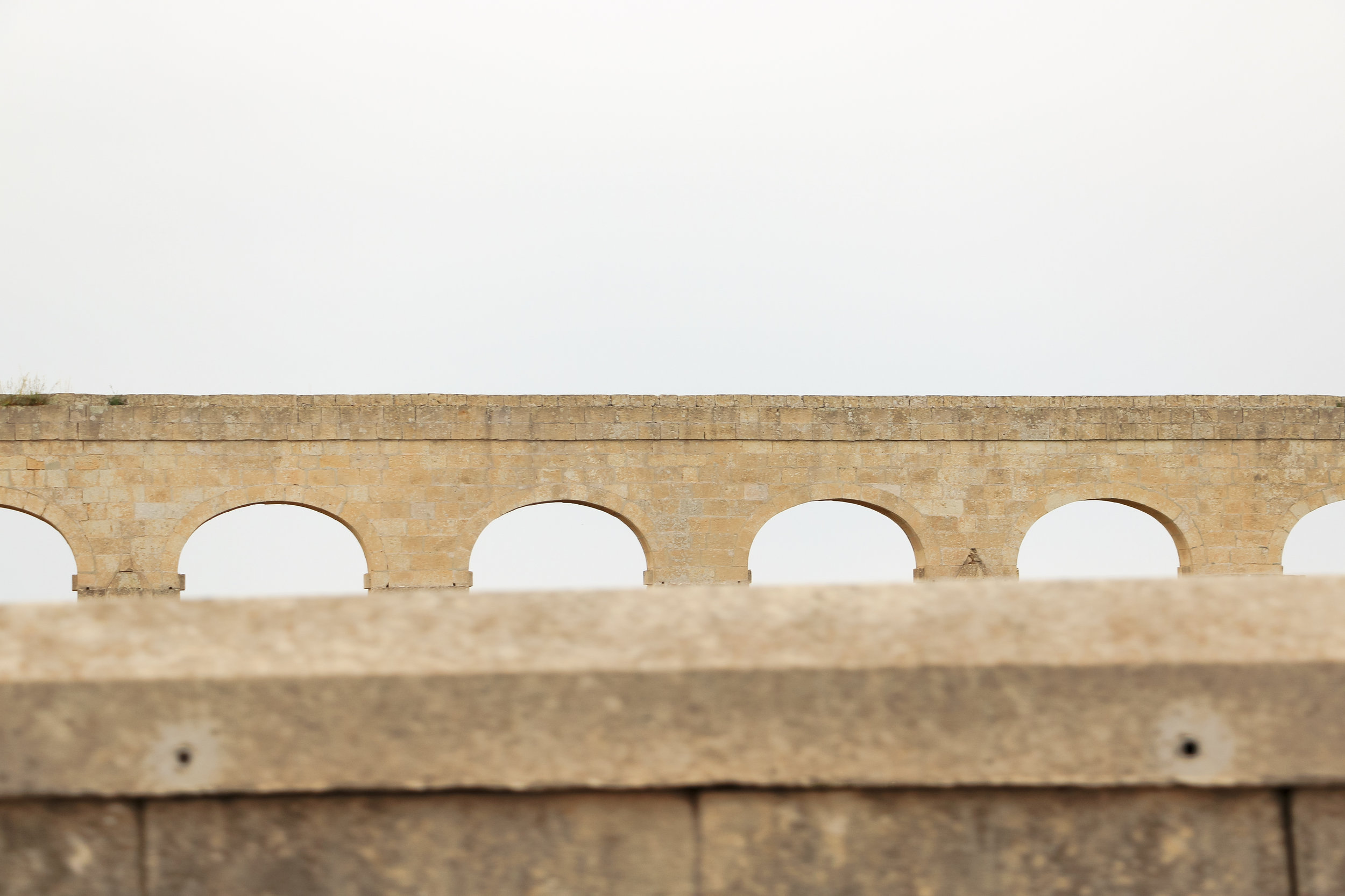 Aqueducts | MAltese Islands Architecture - Thinking About Appreciation For Quality In Malta | Gozo, Malta, Europe | DoLessGetMoreDone.com | - Canon Minimal Travel Documentary Photography - search for Liveability | Sustainability
