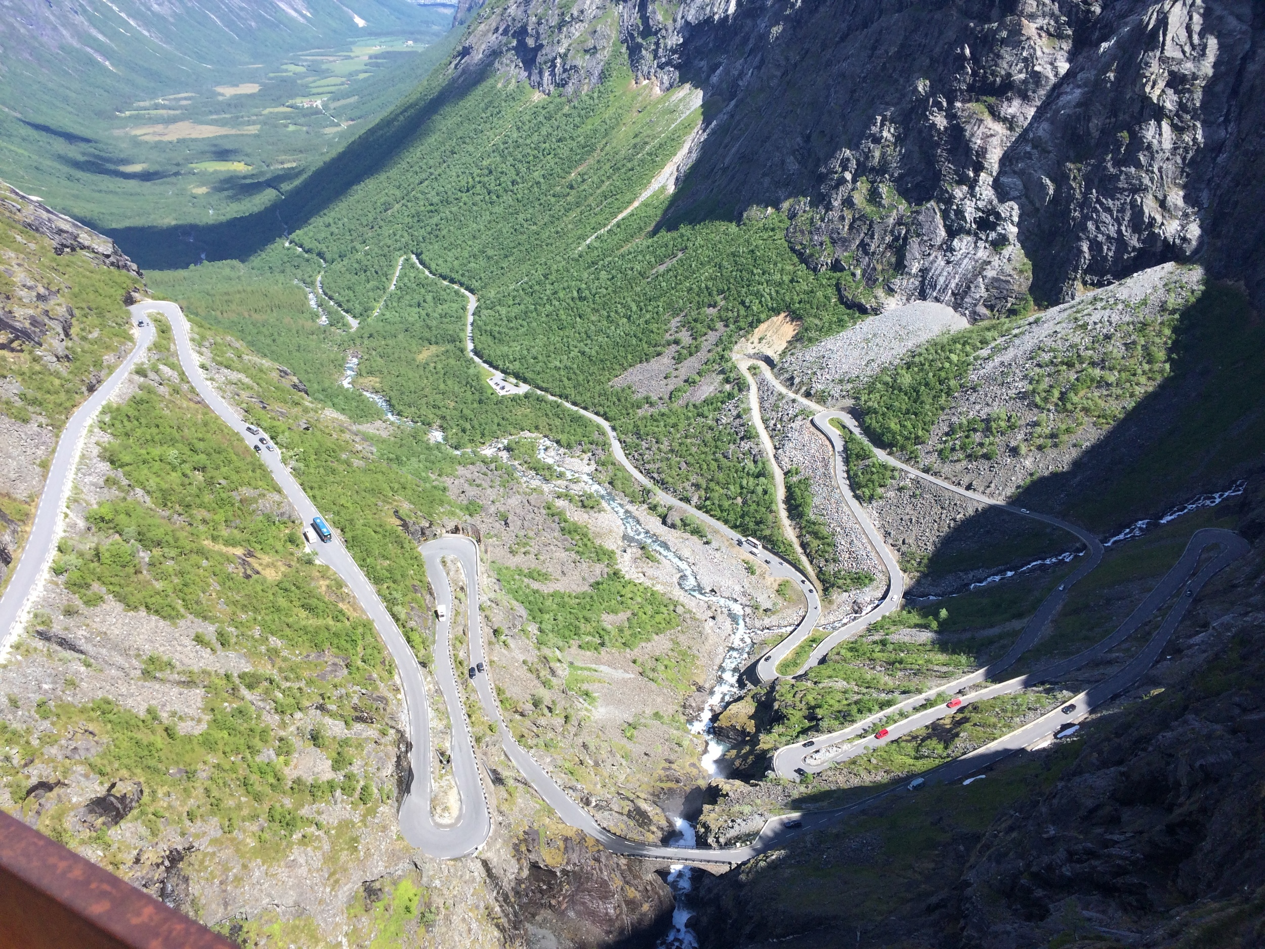 The Trollstigen (Troll's Pass), a mountain road famous for its 11 hairpin turns. It's typically open in mid-May through October, but late snowmelts and early winters can shorten the season.