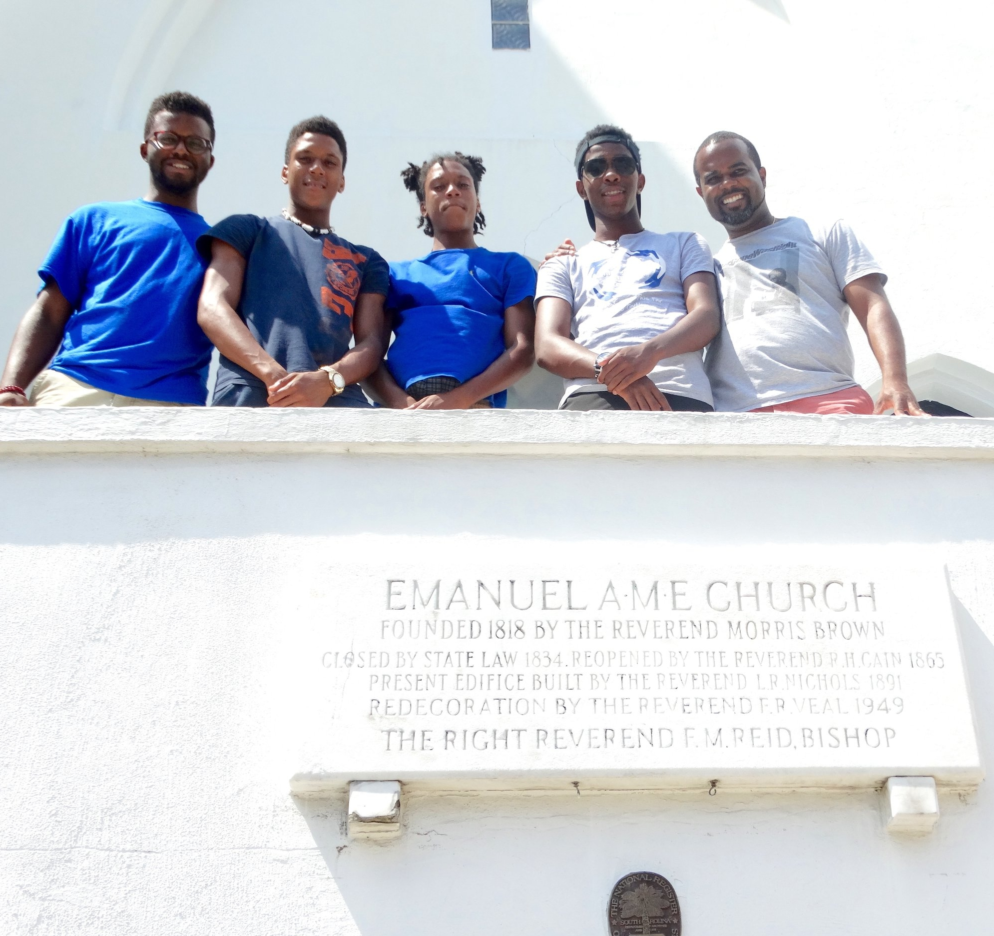 At mother emanuel ame church we heard stories of hope and paid homage to the charleston 9
