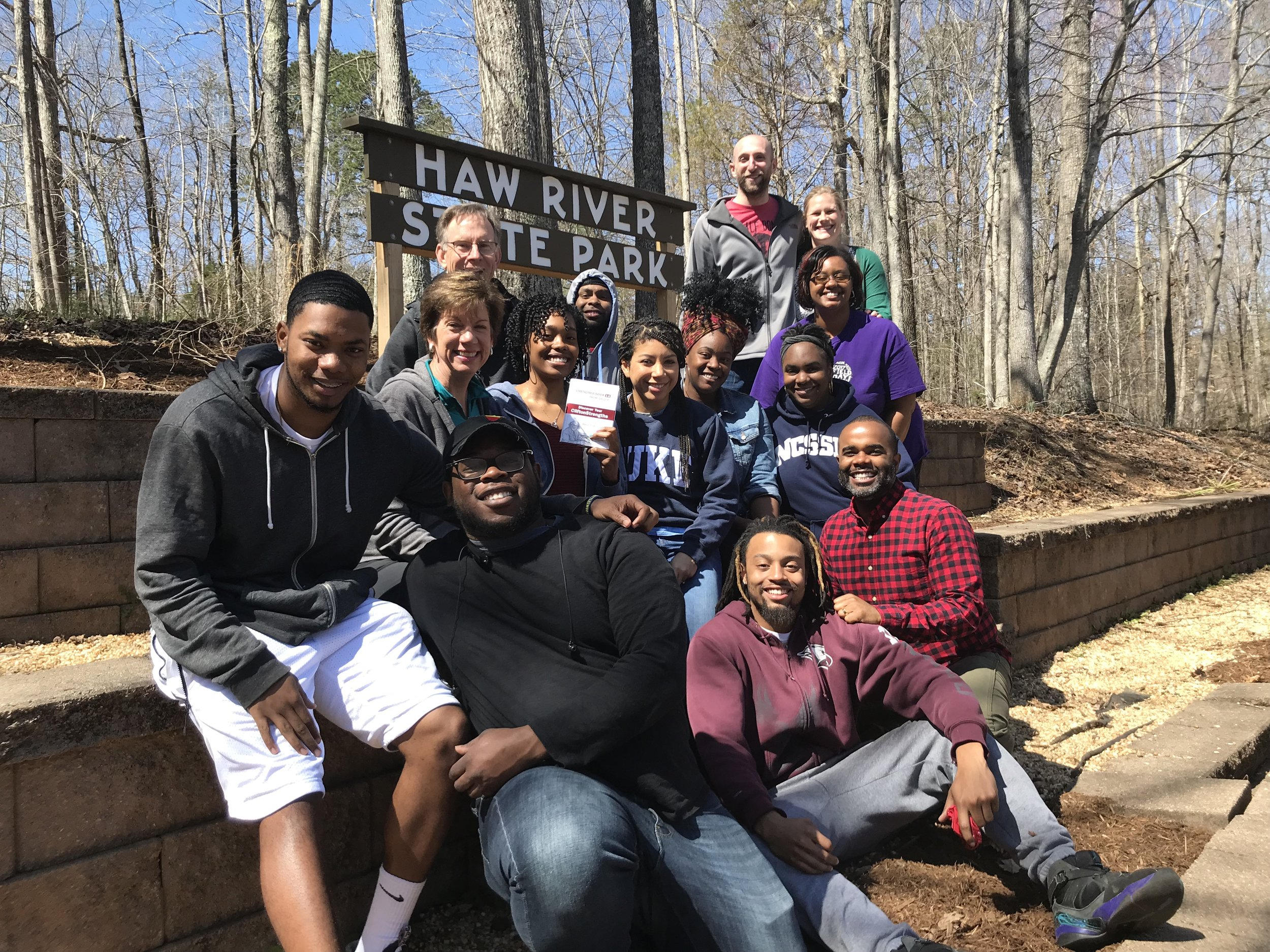 At a March retreat, we gathered with our young adult leaders to explore how our strengths can help us overcome the fears of an unknown future