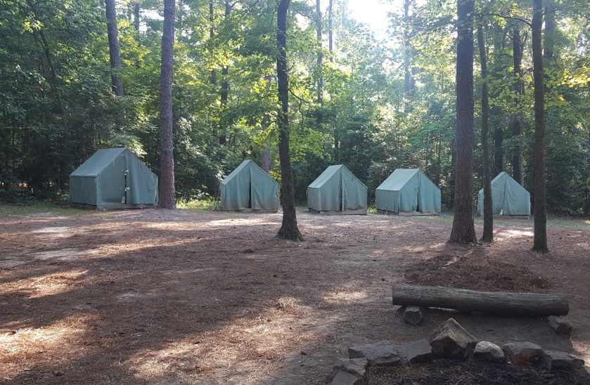 While the girls were busy doing there thing in Durham, the boys spent a week as troop 404 with the boy scouts of america out at camp durant in carthage, NC