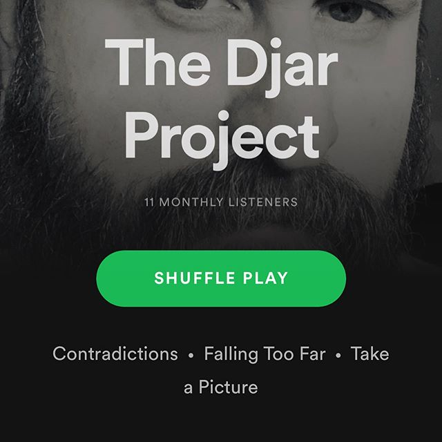 "Spotify, YouTube, amazon music, Apple Music - all places you can hear my new single ""Contradictions"" along with the first two releases 🤘🏼😮🎵🎶"