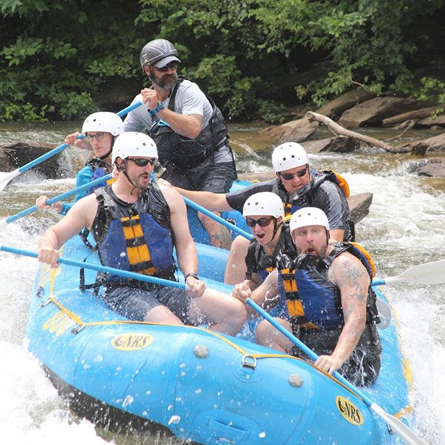 A brief but much needed break ! #whitewaterrafting