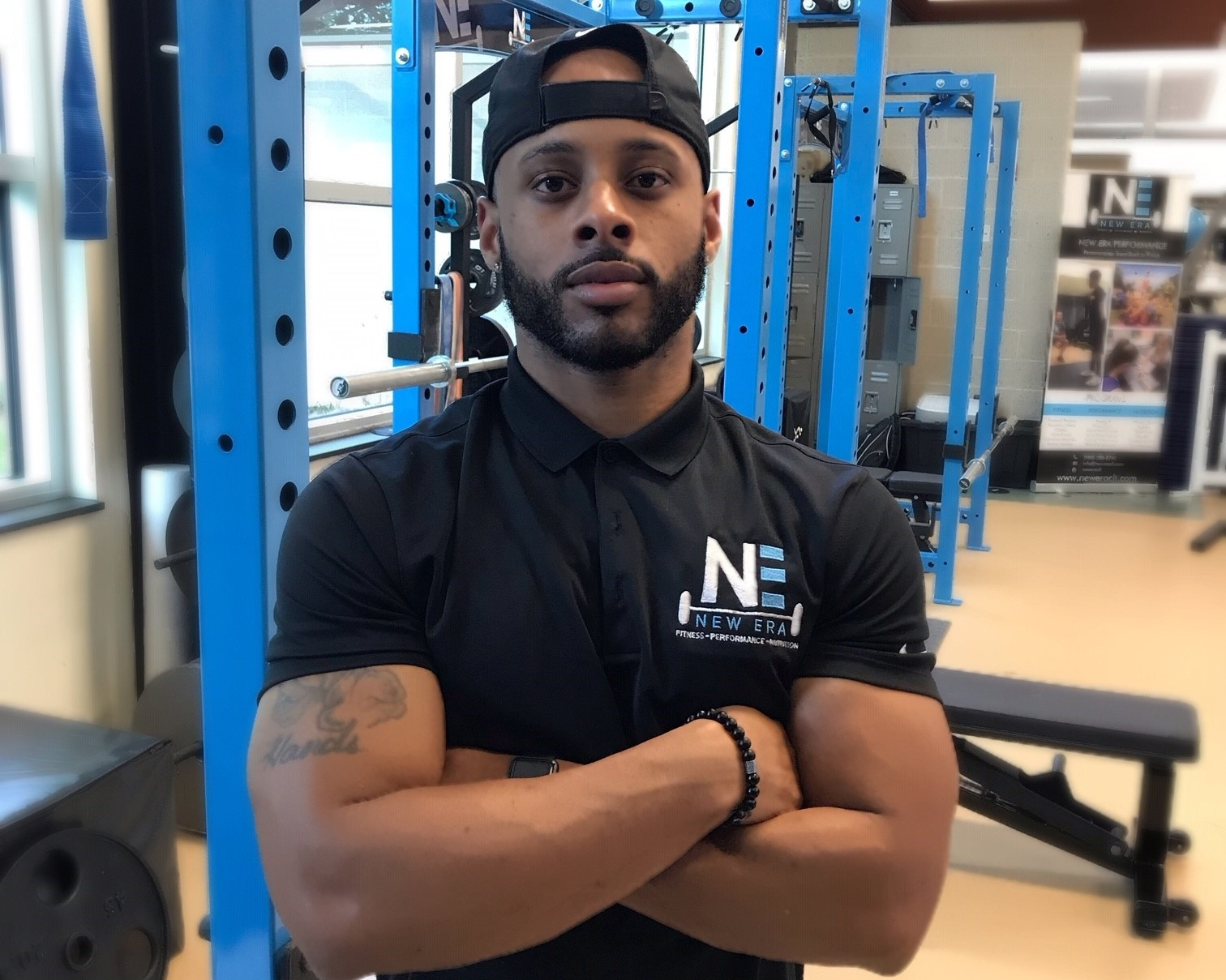 """TYLER JONES, BS, CPT - Tyler, a graduate in Kinesiology from East Carolina University and has worked in the fitness field since 2014. Tyler recognized his passion for fitness shortly after his collegiate baseball career and has been dedicated ever since. Bringing a diverse skill set, Tyler loves what he does and believes that the most rewarding thing is to see a client reach a fitness goal in the most sufficient way. """"I'm here to go through the process with you and to help you become stronger, faster, leaner, or healthier."""""""