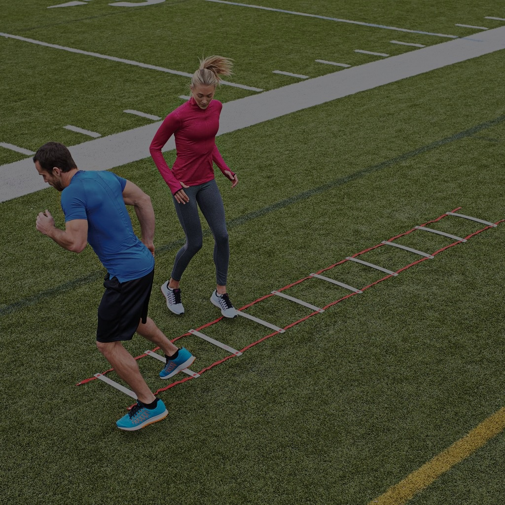 ELITE - Burst through agility ladders, power over hurdles, and maneuver through cones. Are you ELITE enough to train like an athlete while also experiencing an intense, full body workout at the same time?