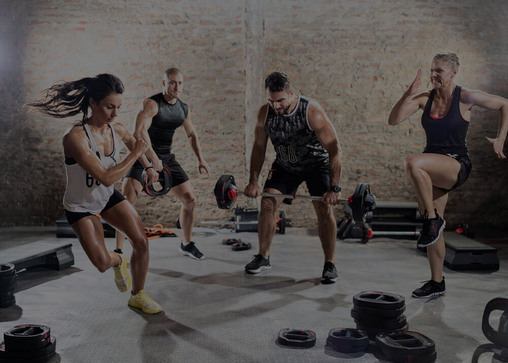 SURGE - Our most popular class! This High Intensity Interval Training (HIIT) class is geared towards propelling your heart rate into