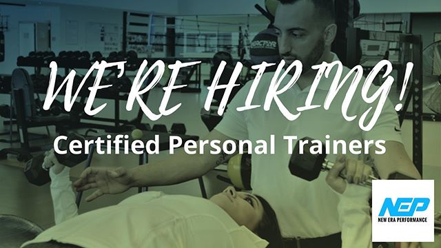 We're hiring qualified candidates who have the passion and motivation to best represent our brand and our services 🤩 ——————————————— Interested in learning more or applying? Please visit indeedjobs.com/new-era-performance/_hl/en