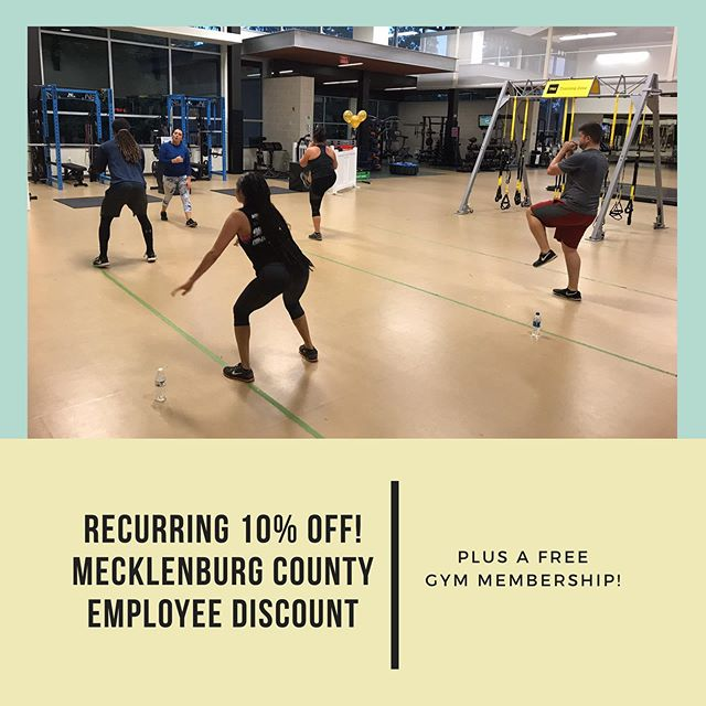 🔊ATTENTION MECKLENBURG COUNTY EMPLOYEES! ————————————————— We have partnered up with @meckparkrec to offer you an awesome, health boosting, money saving offer. Now, not only do you receive a free membership at Revolution Park Sports Academy, but you also receive a RECURRING (more than once!) 10% discount on all of our Personal Training, Small Group Training, & Nutrition Management services 💪. That means less spending on top-notch health & fitness services and more spending on holiday presents this year! 🤑 ———————————————— Explore the benefits of working with New Era Performance by scheduling a FREE consultation today. Contact us before 11/30 and also receive a FREE 30-minute Personal Training session! Hurry! Spots are limited.  Our offer is also valid for all CMS employees.