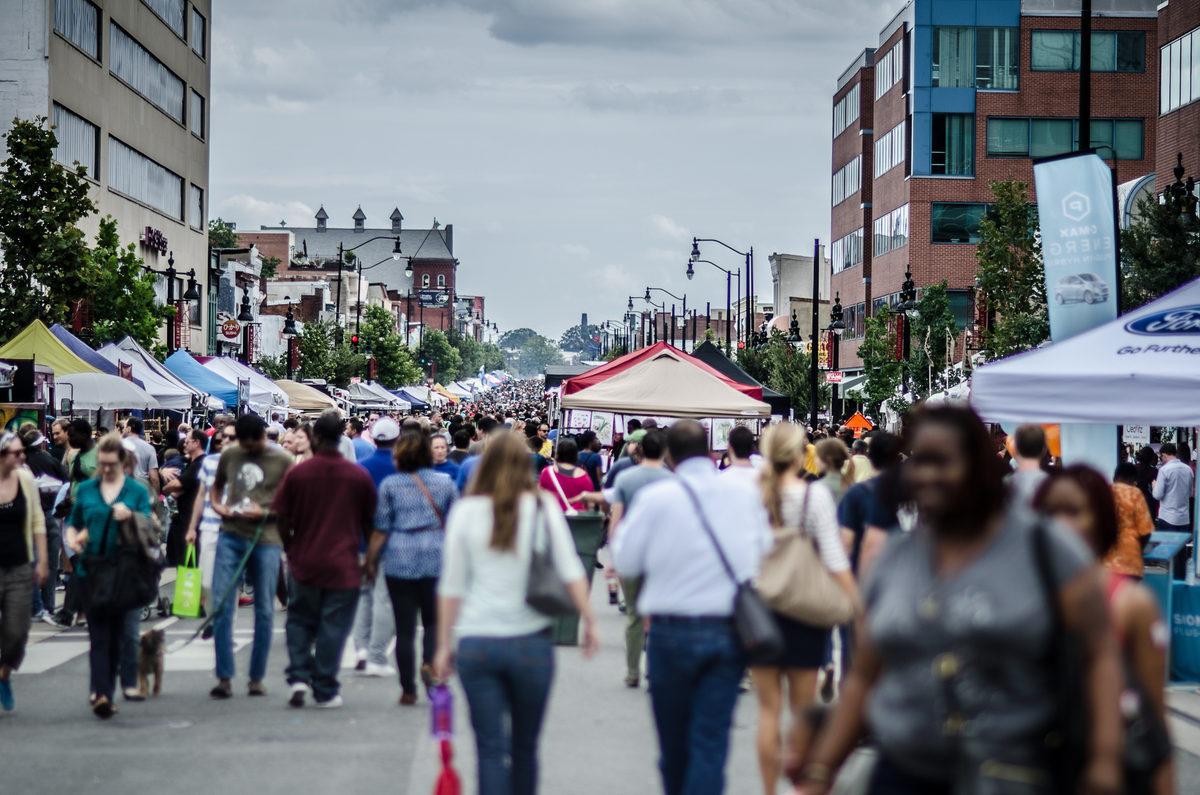 The H Street Festival, Washington, DC.