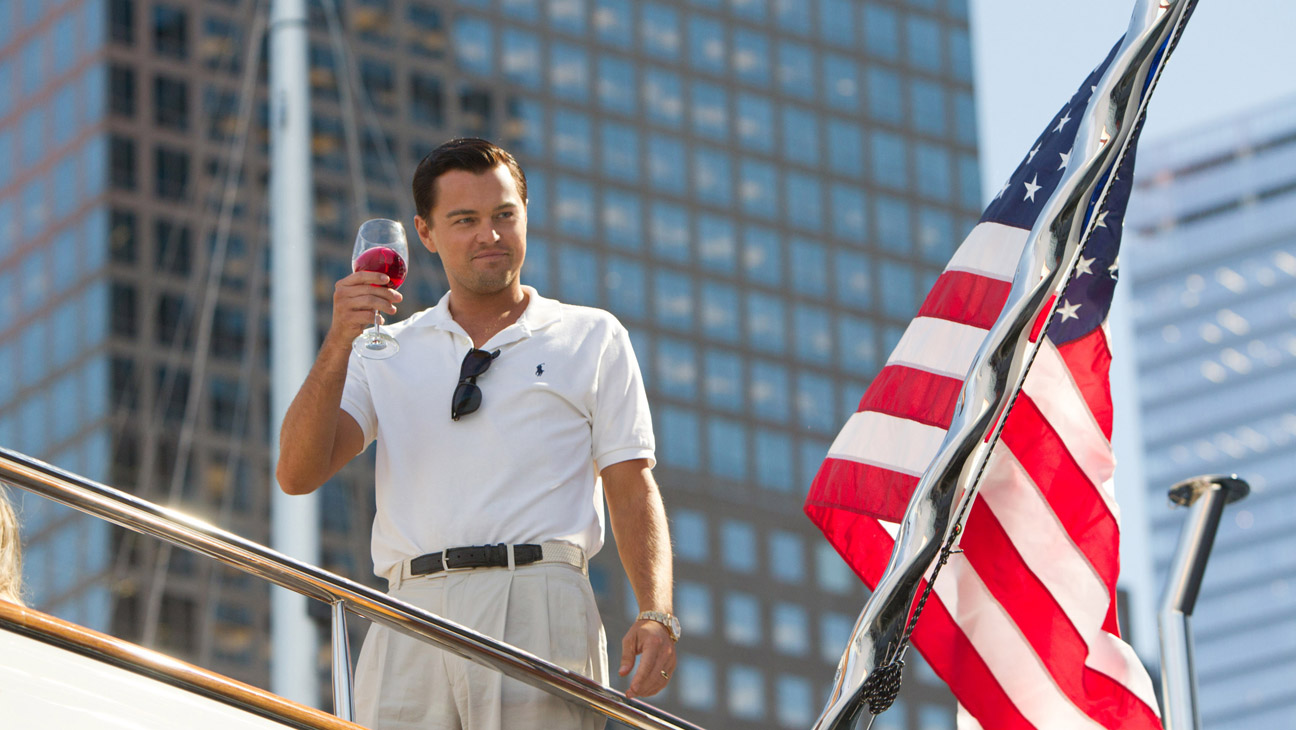 A scene from Martin Scorsese's The Wolf of Wall Street.