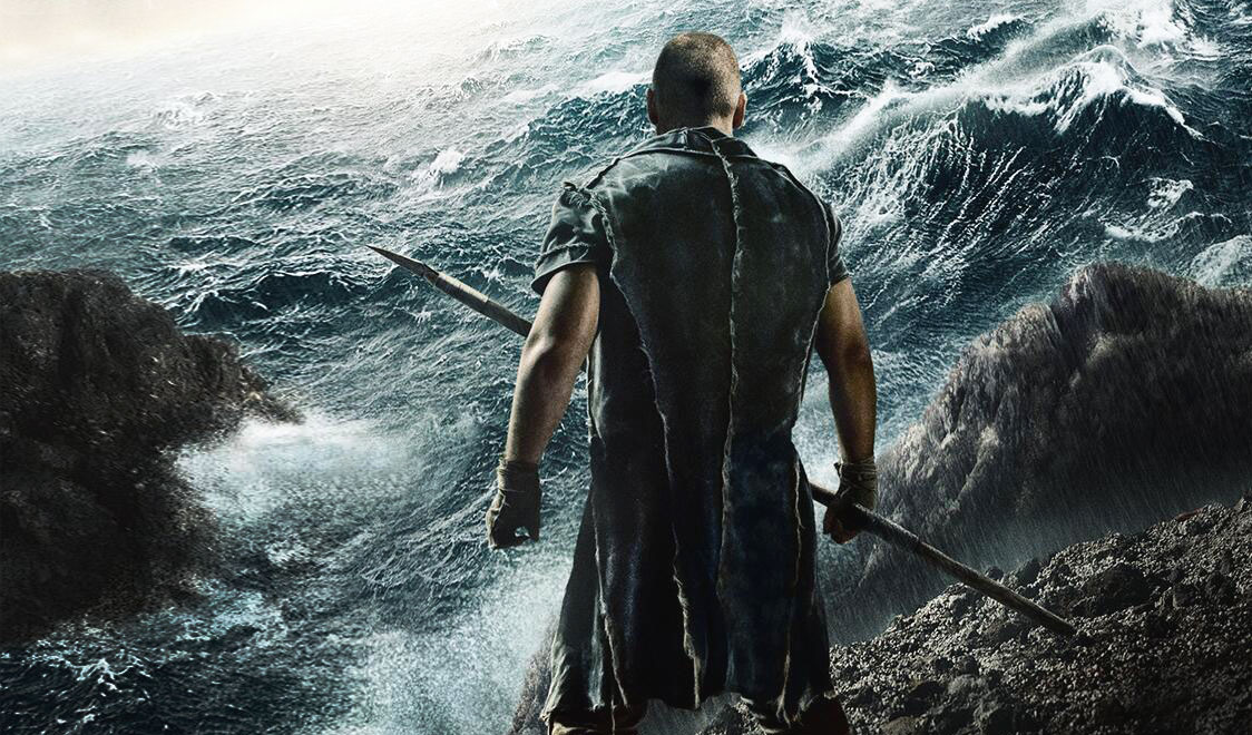 A scene from Darren Aronofsky's Noah.