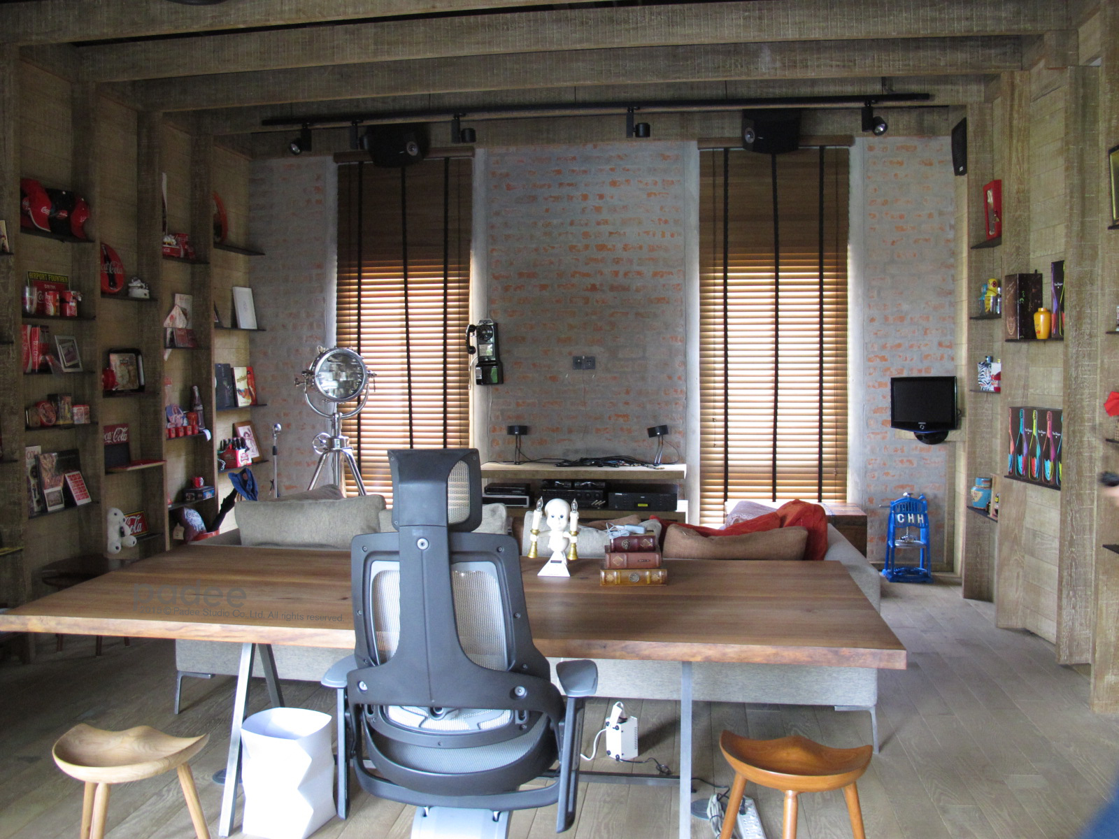 Old Working & Living Area