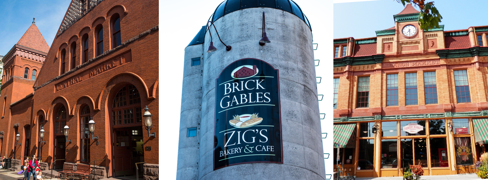 Zig's has locations at Lancaster, PA's Central Market, Brick Gables in Lititz, PA and the Lebanon Farmer's Market in Lebanon, PA.