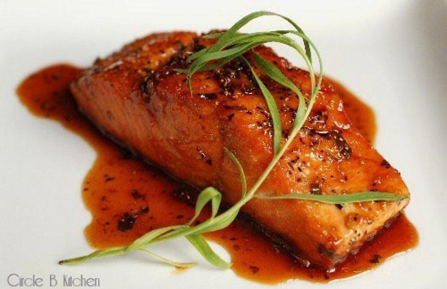 Caramelized Salmon     CircleB Kitchen