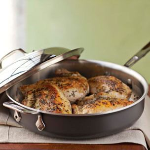 Pan Roasted Chicken with Herbes de Provence