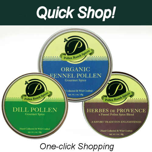 Organic & Dill and Herbes Pollen