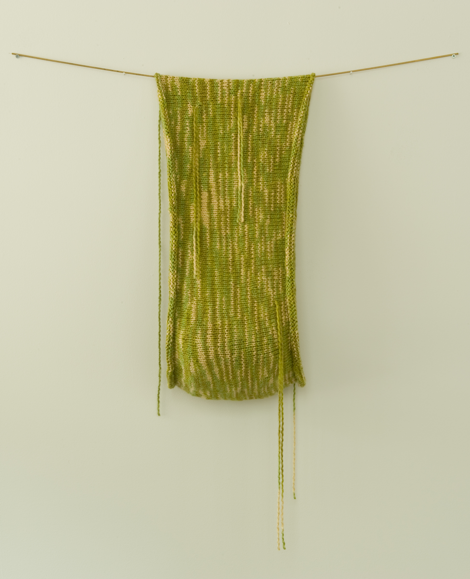 Samantha Stevens  | 2013  | hand knitted cotton | 30 x 12 x 6