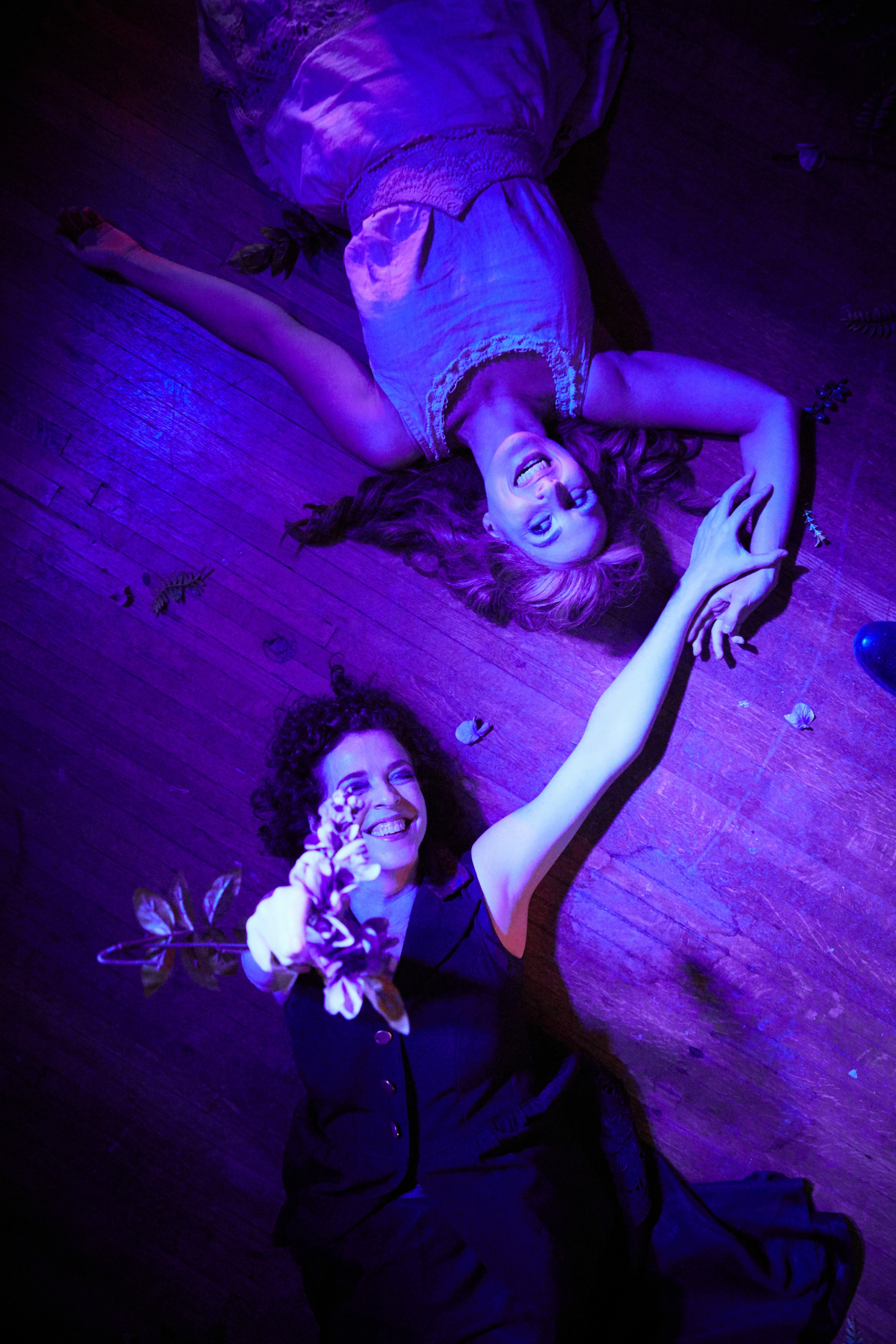 Meg Elliott & Sarah August Hecht in Lecherous Honey photo by John Jennings