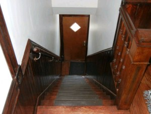 Pilsen historic home: stairs after rehab