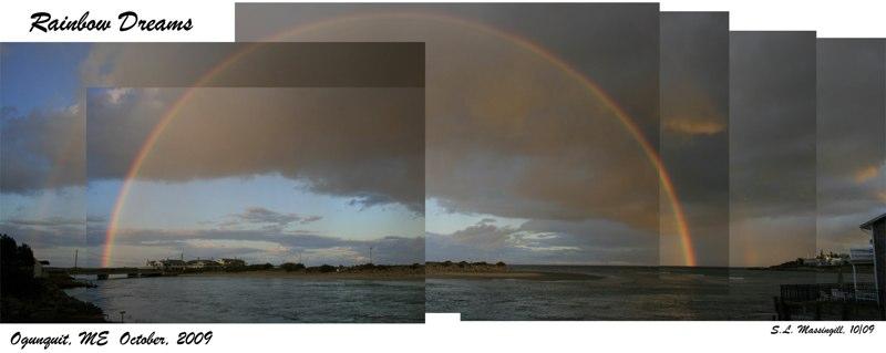 """Rainbow Dreams"", Oct. 2009, Ogunquit, ME"