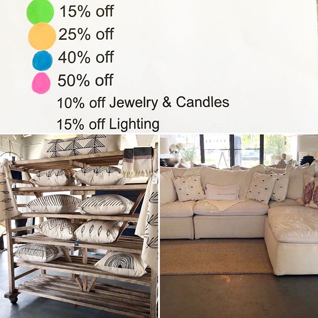 IMPROMPTU SUMMER SALE🌞🌞🌞🌞 Starts Friday July 19th.... #summersale #bluemoontradingco #southtampaboutique #homedecor #jewelry #apparel