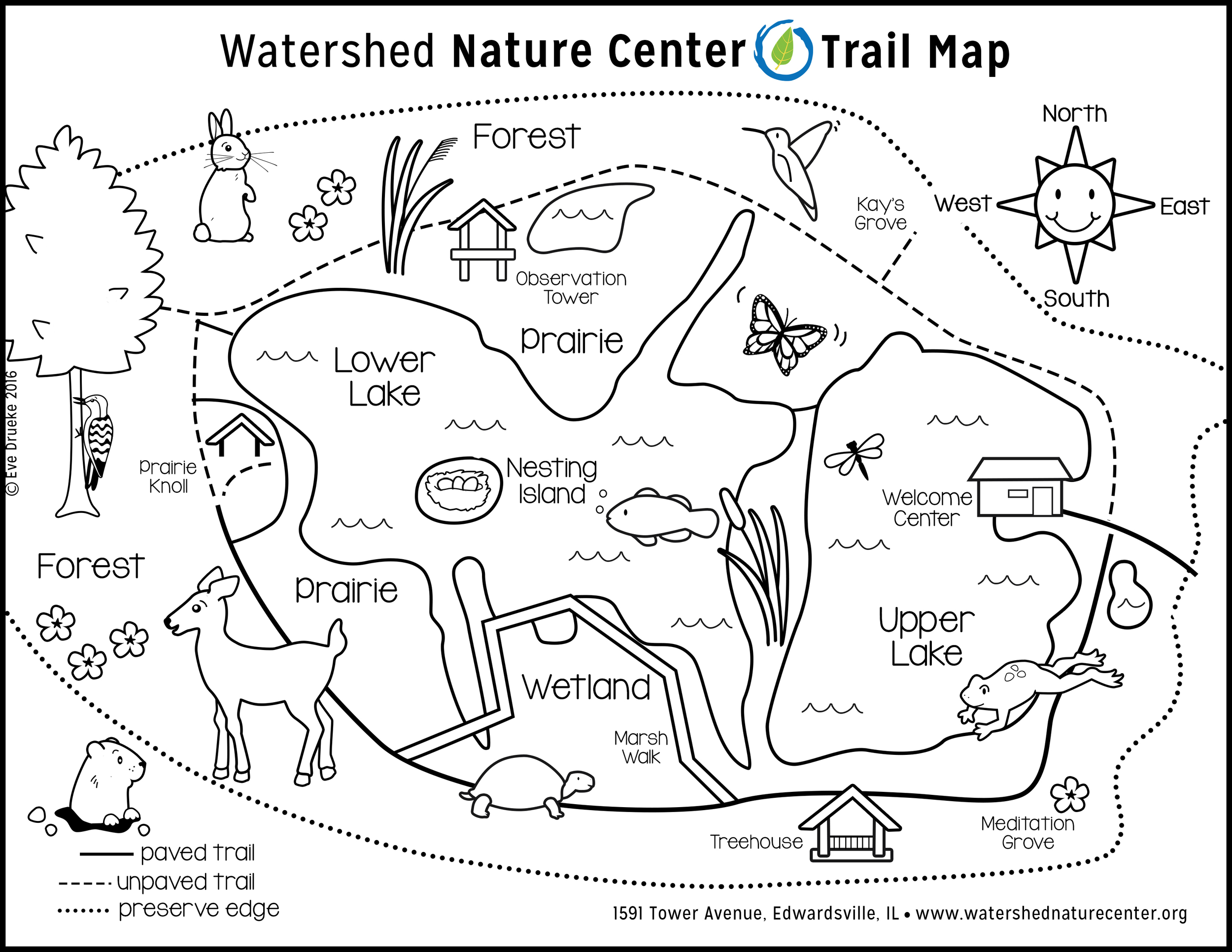 Watershed Children's Map