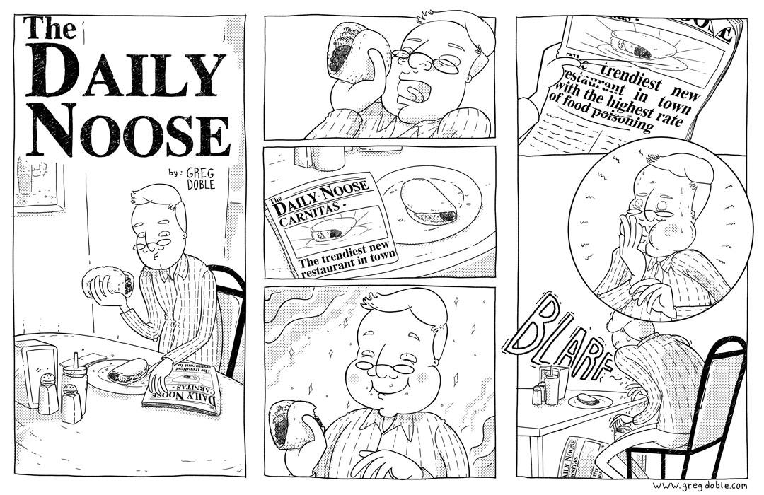 The Daily Noose - Taco Turmoil