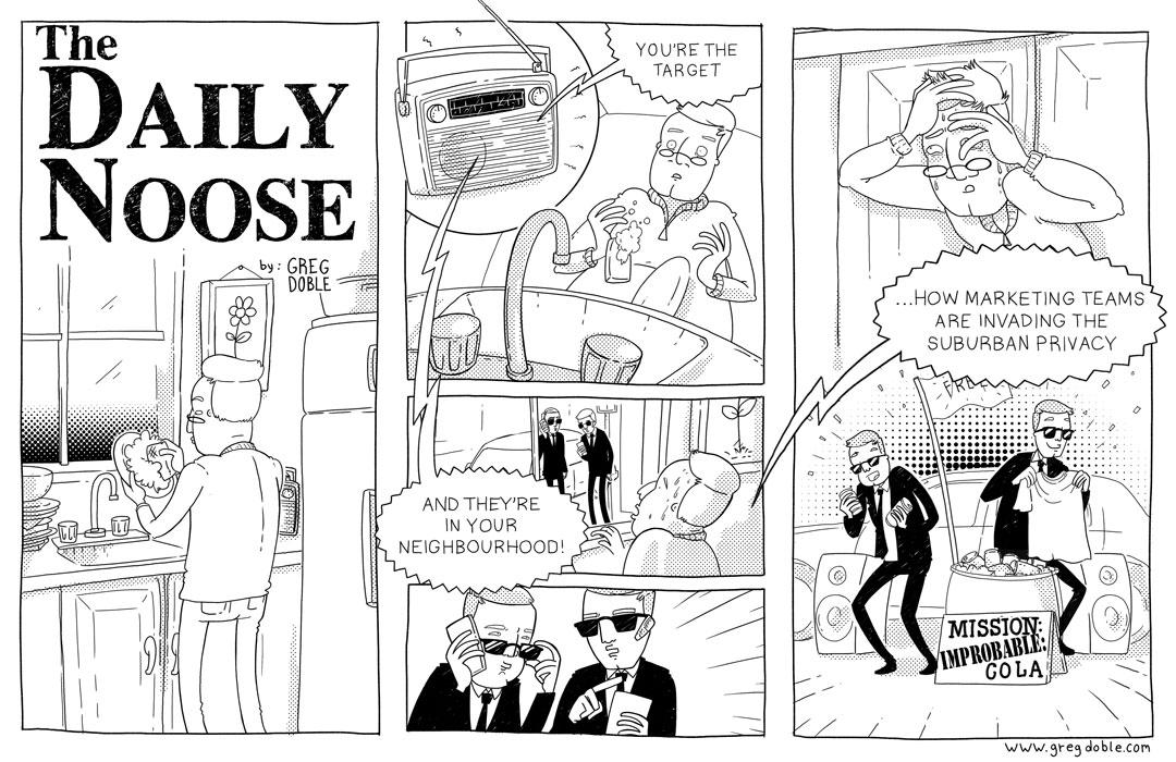 The Daily Noose - Targeting Taste Buds