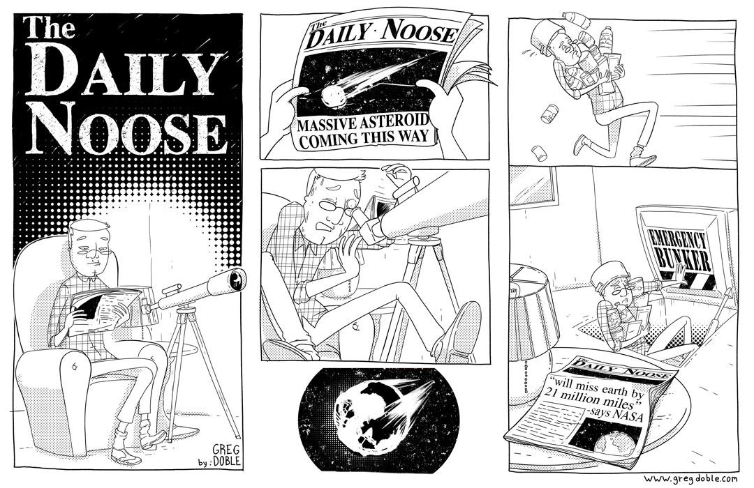 The Daily Noose - Astray Assumption