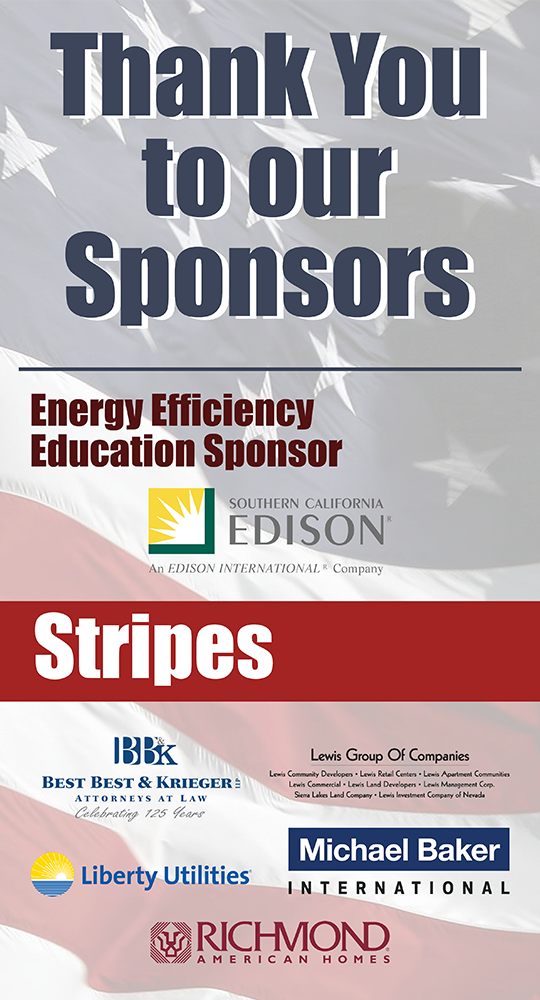 Thank you to this year's sponsors.