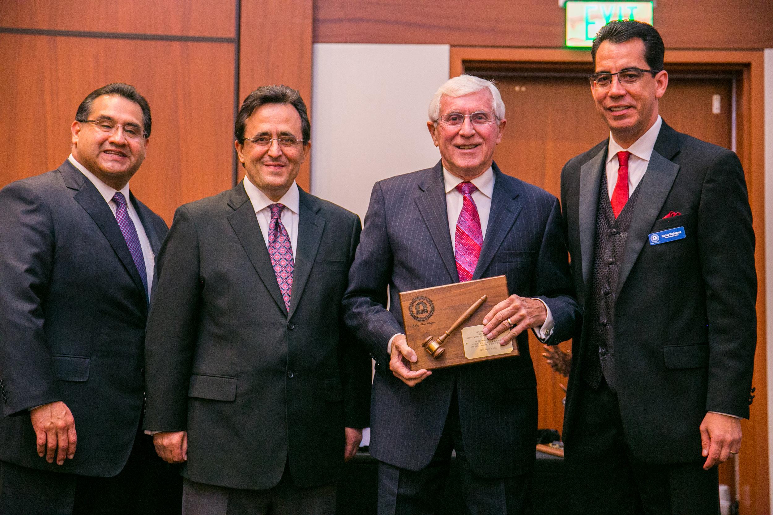 <b>2016 President's Award</b><br>Leon Swails, Lewis Management Corp.