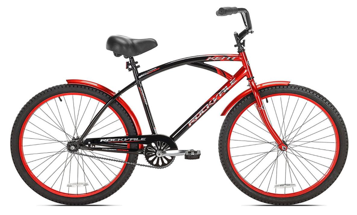 "<span style=""font-size:0.9em;""><b>Kent Rockvale<br>Men's Cruiser Bike<br>26-Inch</BR></span></b>"