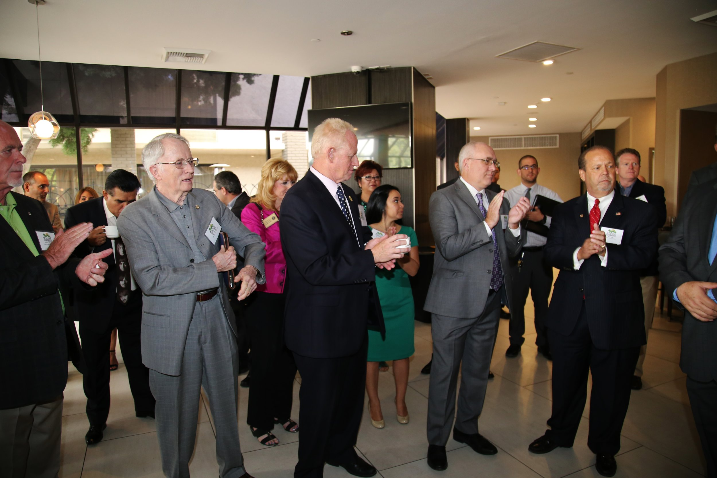 Event Sponsors and Elected Officials attend our VIP Reception