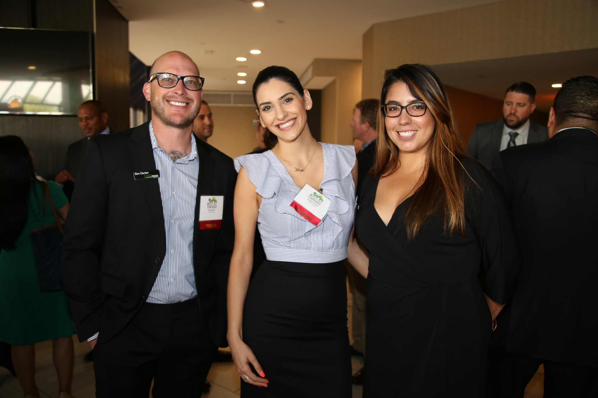 Our American Standard Sponsor, CMG Financial attends our VIP Reception.