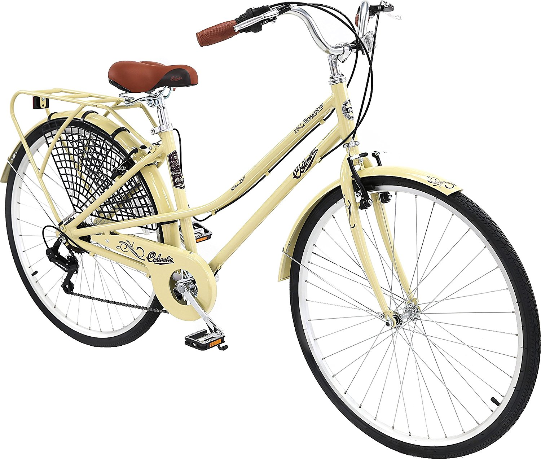 <b>Columbia Bicycles<br>Streamliner<br>700c Women's 7-Speed<br>City Cruiser Bike</b>