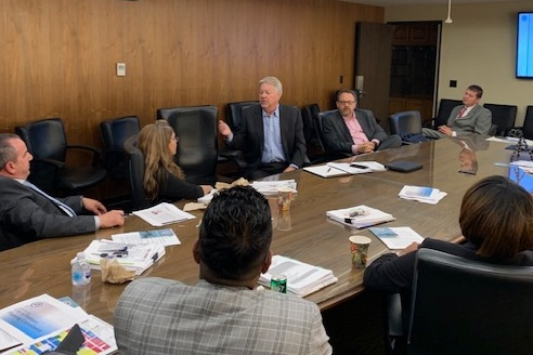 BIA leadership address Planning Commissioners