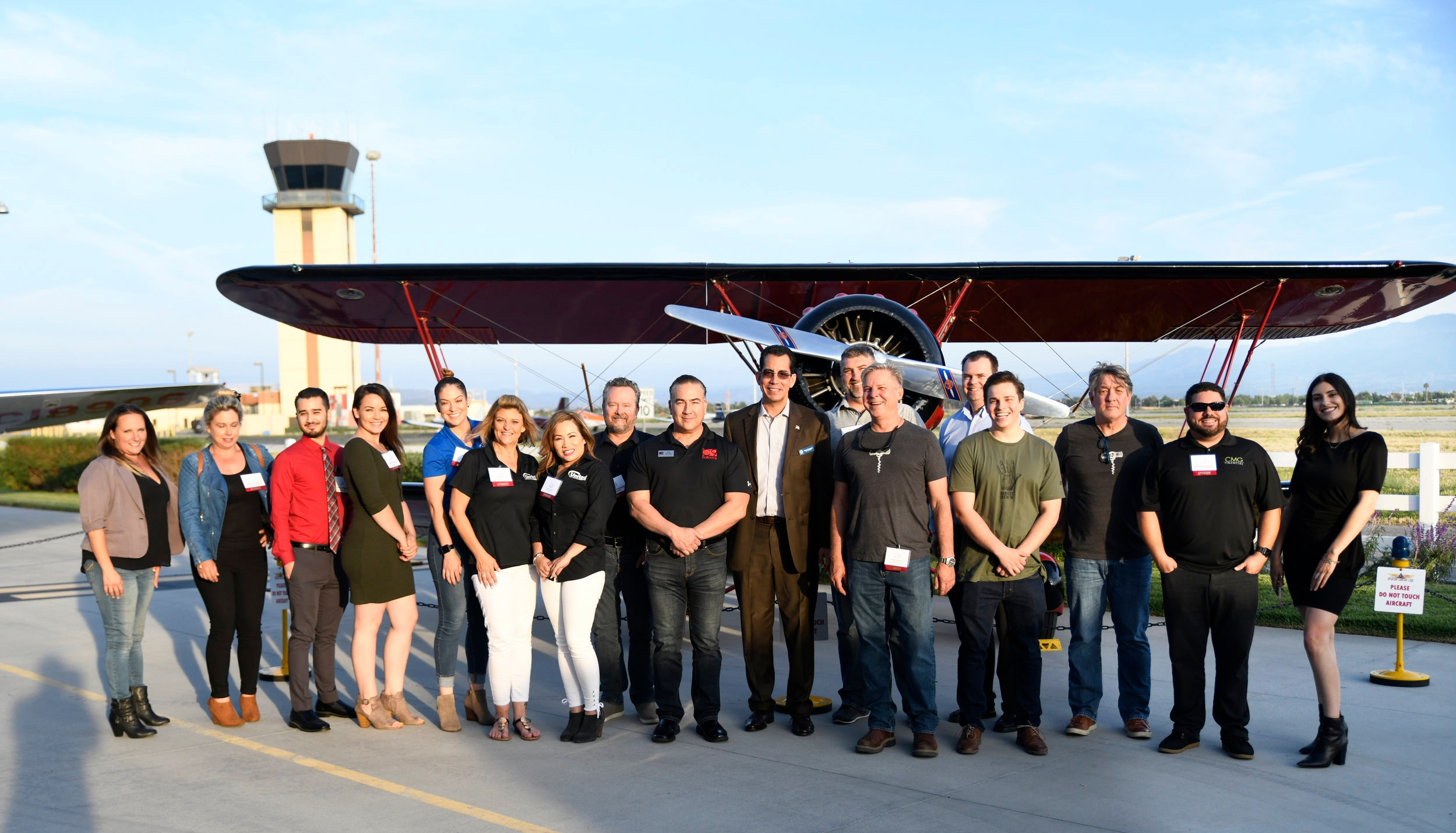 BIA Baldy View Chapter CEO Carlos Rodriguez (center) and all of the 2019 Bites, Brews, & Bubbly Sponsors. Thank you for your generosity and continuing support.