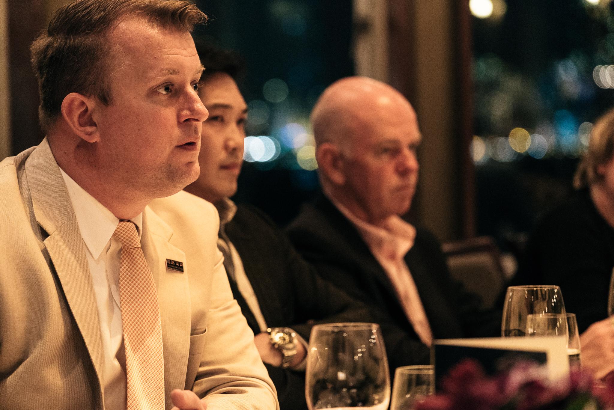 Executive roundtable in Hong Kong