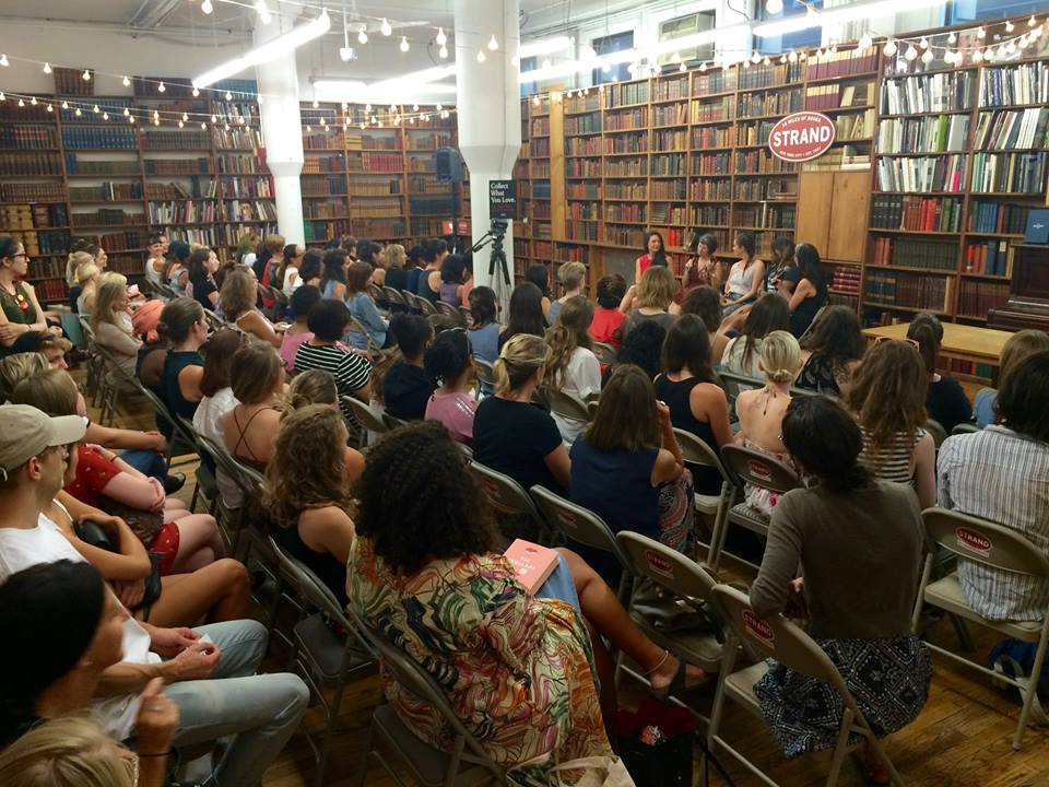 Crowd at Bad Beauty event // Strand //NYC