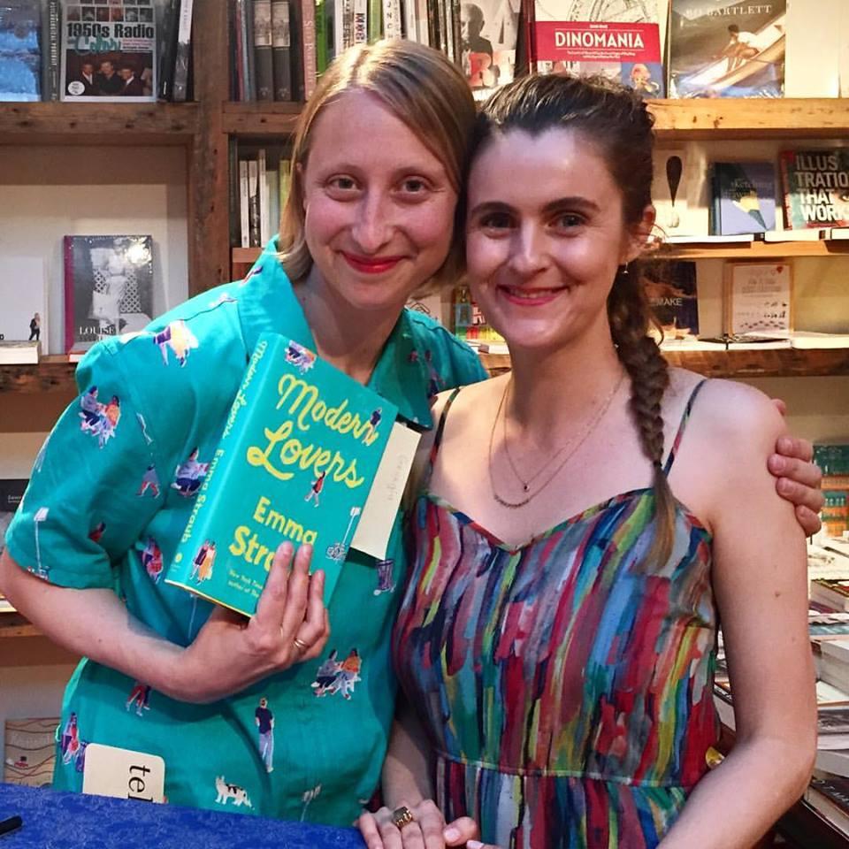 Emma Straub and me
