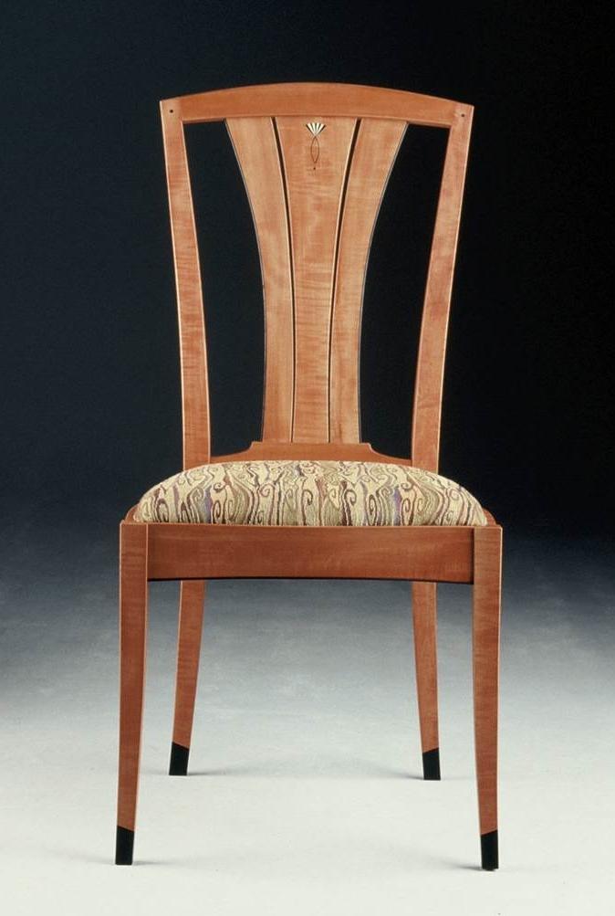 Pear side chair