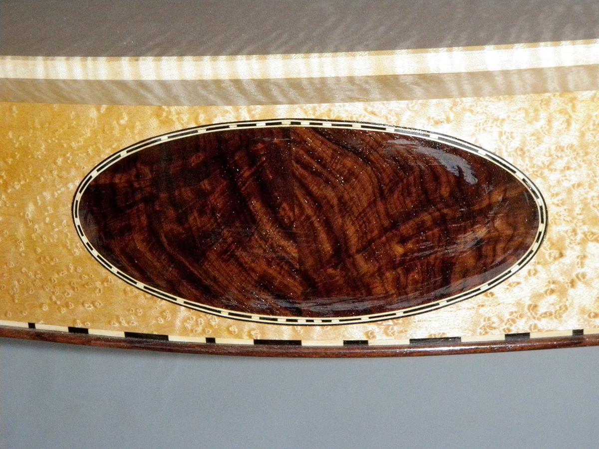 Demilune Table, Detail