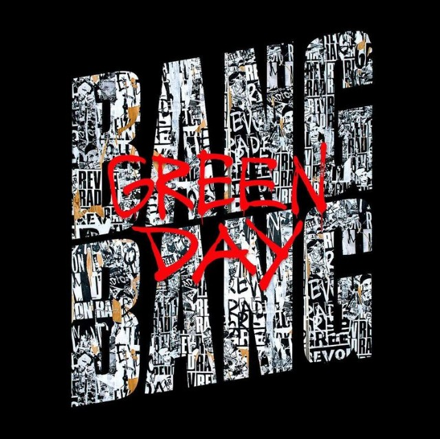 Official single artwork for Green Day's 'Bang Bang'