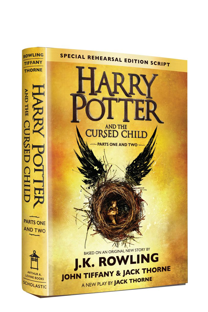 The latest in the Harry Potter instalment- Harry Potter & the Cursed Child