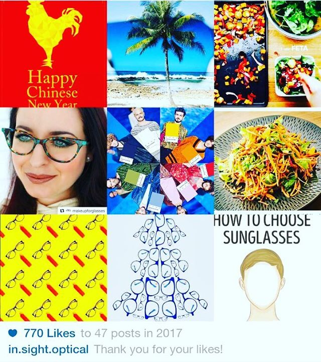 Thank you all for following us during 2017. Cheers to another great year ahead! . . .  #bestnine2017 #bestoptical #burnaby #newyear2017