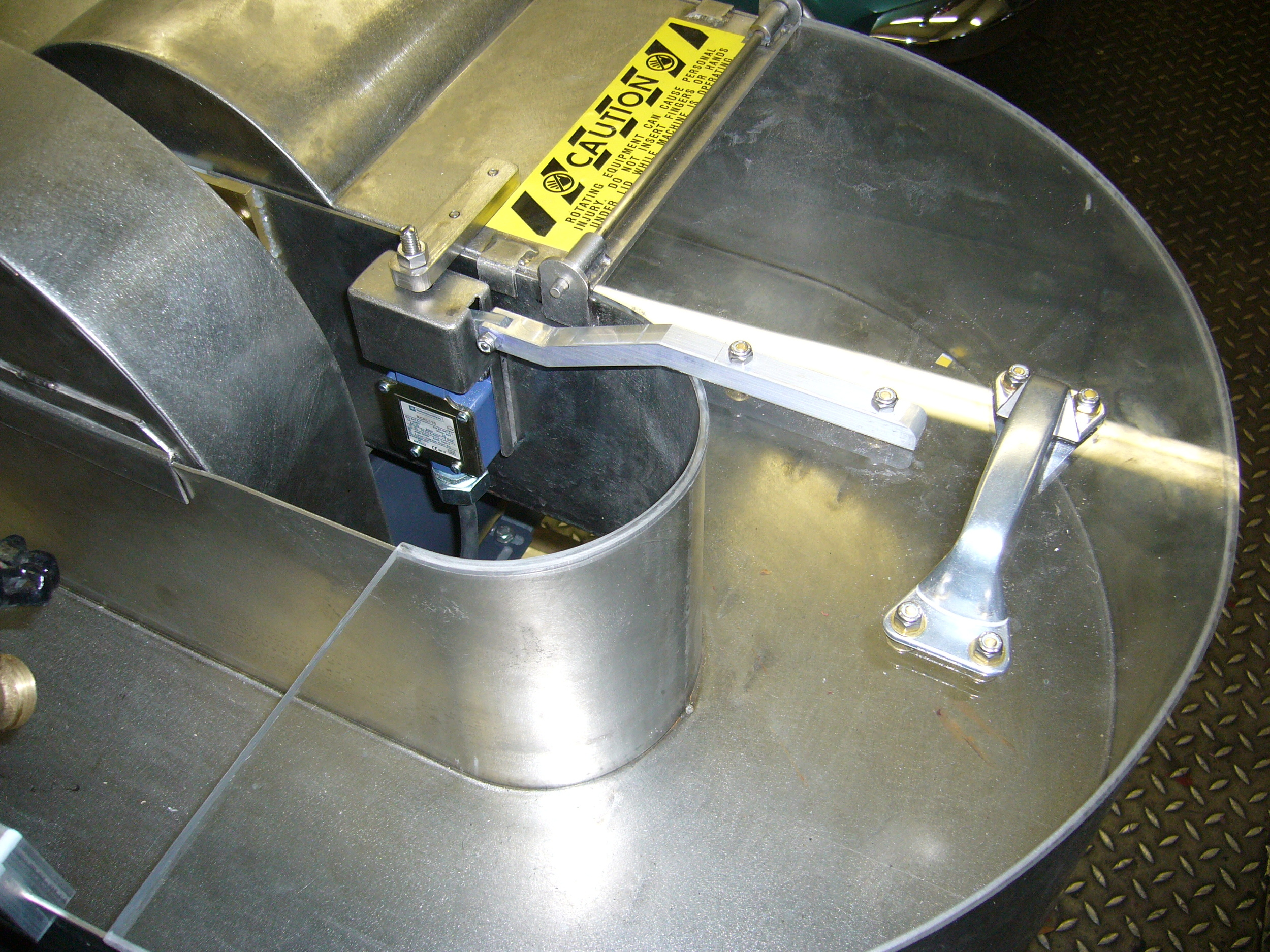 Safety switch on 2 lb. Beater