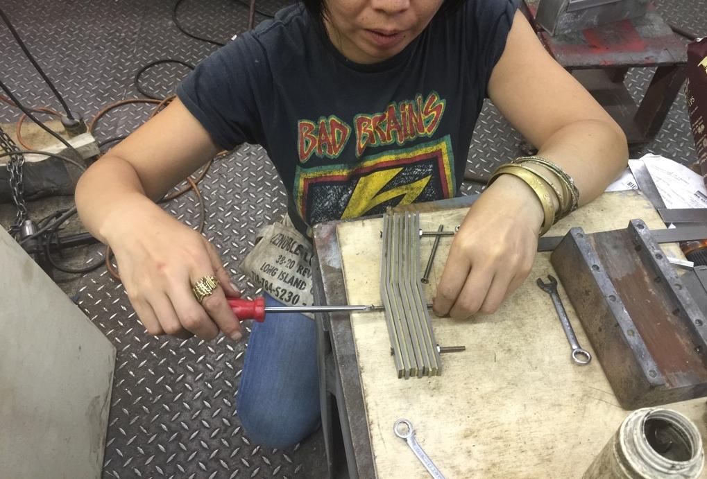 Valley Beater bedplate repair