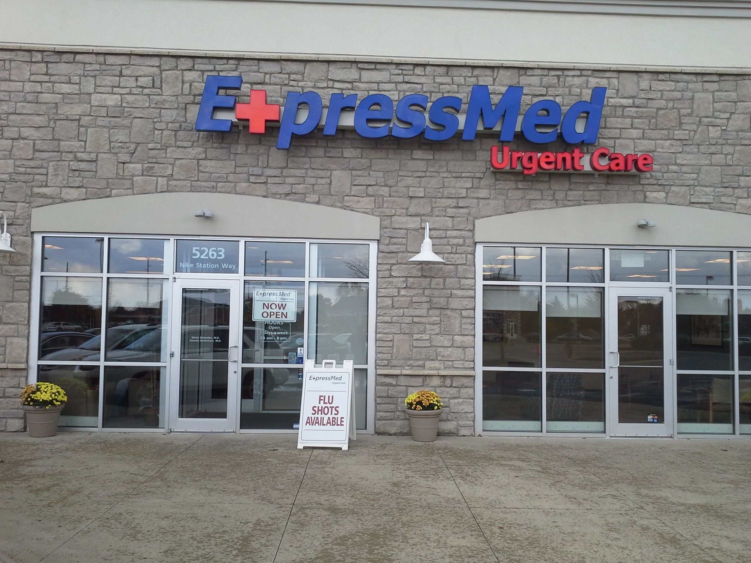 ExpressMed Hilliard exterior